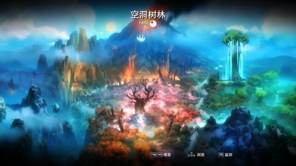 遊戲內的世界地圖